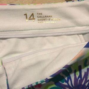 Lilly Pulitzer Shorts - Lilly Pulitzer Callahan Shorts 5in size 14